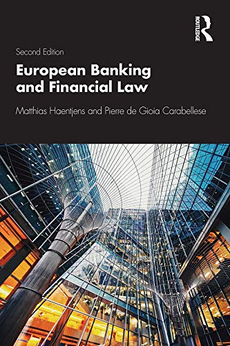 European Banking and Financial Law 2e (English Edition)