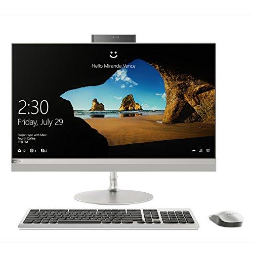 Lenovo F0DN001UIX AIO 520-24ARR con Display da 23.8 WVA FHD Nt Borderless, Processore Ryzen 3 2200Ge, RAM 8GB, SSD da 256GB, Scheda Grafica Integrata, Sistema Operativo W10