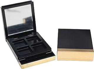 4 rasters make-up oogschaduw cosmetica palet met spiegeldoos voor vrouwelijke meisjes