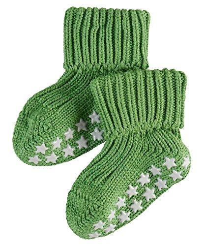FALKE Unisex Baby Socken Cotton Catspads - Grün (klee 7392) , 62 (Herstellergröße: 62-68 )