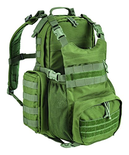 Defcon 5 Modular backpack with Molle system 35L, D5-354, unisex_adult, Backpack, D5-354-OD, OD Green, 35 x 53 x 19 cm