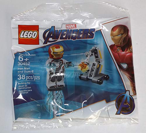 LEGO Super Heroes Avengers Endgame Minifigure - Iron Man (with White Jumpsuit) 30452
