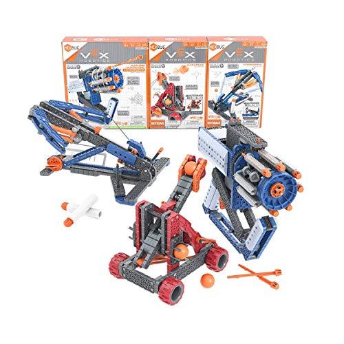 HEXBUG - VEX Robotics Launchers STEM Construction Kit Bundle, 6 'AA Batteries Included