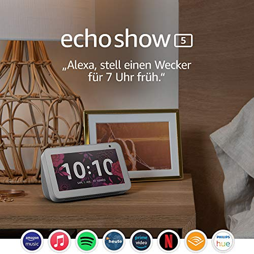 Amazon Echo Show 5 – Sprachassistent mit Display und Alexa, weiß - 8