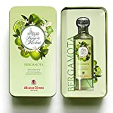 Alvarez Gómez - Lata regalo Aguas Frescas de Flores - Bergamota - 175ml Verde