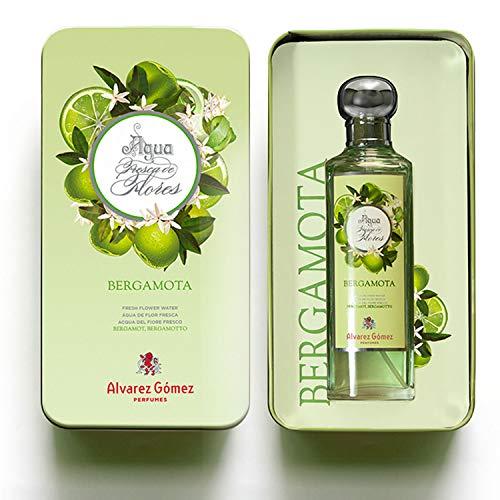 Alvarez Gomez Lata Regalo Aguas Frescas de Flores, Verde, Bergamota, Fresca, 175 Mililitros