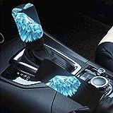 Car Interior Accessiores for Women Men -auto Gear Shift Knob Cover Handbrake Cover Polygon...