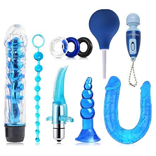 FEIHAI ღ Ensemble de 10 pièces de Blue Stimulate Amusant pour Se détendre Petit jouet-C349