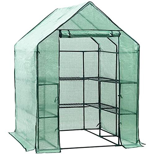Display4top Greenhouse Grow House 143 x 143 x 195 cm