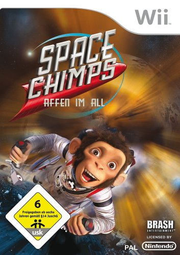 Wii - Space Chimps: Affen im All