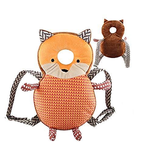 ZYMY Baby Kleinkind Kopfschutz, verstellbare Säuglings-Schutzpolster für Baby Walker, Schutzkopf, niedliche kleine Biene Fuchs Bär