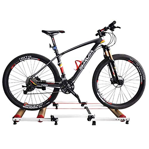 HAMHIN Indoor Bicycle Training, Faltbare Indoor Bicycle Roller Training Bank, Fahrrad Training Bank, Mountainbike, Rennrad Fitness Bank