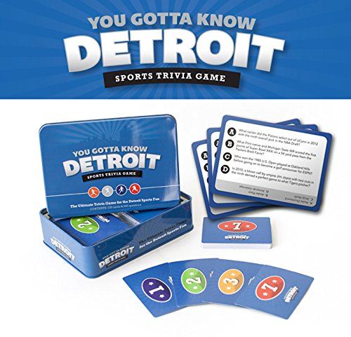 You Gotta Know Detroit - Sports Trivia Game