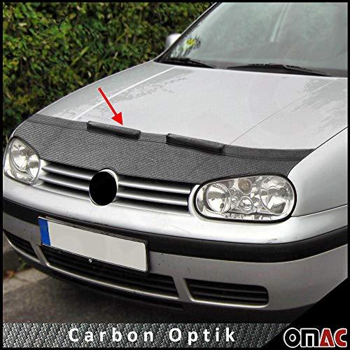 Haubenbra Bonnet Bra für Golf IV 1998-2004 Carbon Optik Steinschlagschutzmaske