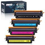 OfficeWorld 410X Toner Sostituzione per HP 410X 410A CF410X CF410A Toner, Compatibile per HP Color Laserjet Pro M452dn M452nw M452dw M452 M377dw M377 MFP-M477fdw MFP-M477fdn MFP-M477fnw MFP-M477