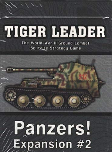 Solitaire Wargame Tiger Leader Expansion #2 - Panzers!