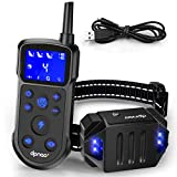 DPNAO Dog Training Collar, Dog Shock Collor with Remote for Small/Medium/Large Dogs w/3 Training Modes Shock/Vibration/Beep, Rechargeable Waterproof Trainer Collar, 1000Ft Range Dog Training Set