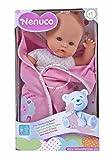 Nenuco de Famosa 700012123, Recién Nacido - Muñeco infantil con Sonidos de Bebé, Colores/Modelos sur...