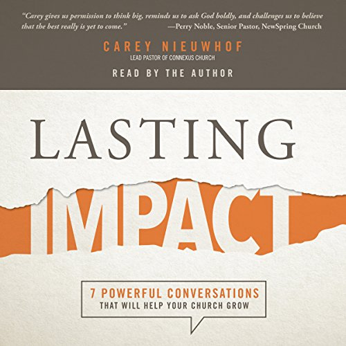Lasting Impact audiobook cover art