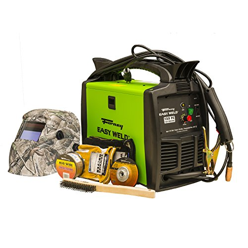 Forney Easy Weld 29901 125 FC MIG Welder Start-Up Kit
