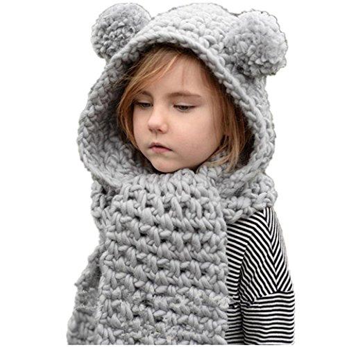 Babybekleidung Hüte & Mützen Longra Baby Kinder Mädchen Jungen Wintermütze...