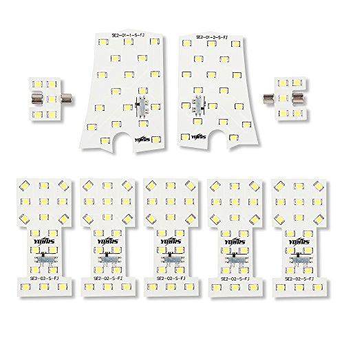 YOURS(ユアーズ) エルグランド E52 専用 LEDルームランプセット 専用T5 LEDバニティランプセット (減光調整付き)