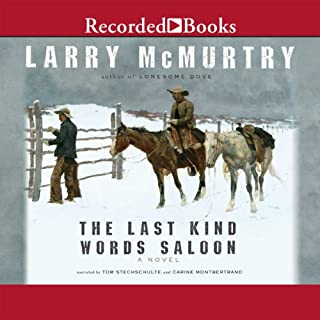 The Last Kind Words Saloon audiobook cover art