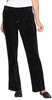 Gloria Vanderbilt Ladies' Velour Lounge Pant for Women ~ X-Small - Plus Sizes