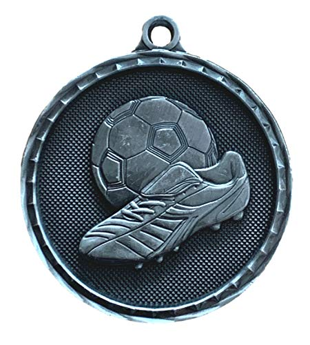 Emblems-Gifts - Medalla de balón y bota de fútbol con grabado 3D...