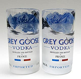 Grey Goose Vodka Bottle Tumblers - Set of Two