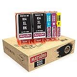 Matsuro Original | Compatible Cartuchos de Tinta Reemplazo para HP 934XL 935XL 934 XL 935 XL (1 Set + 1 BK)