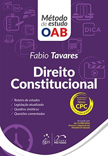 Série Método de Estudo OAB - Direito Constitucional