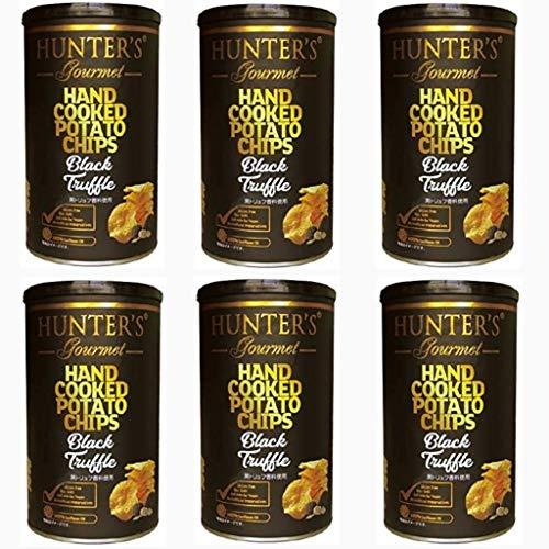 まとめ売り 6個セット ビック缶 150g 今夜比べてみました ハンターズ 黒トリュフ ポテトチップス ハンター 150g Big缶 HUNTER'S 成城石井