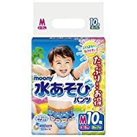 ムーニー 水遊びパンツ 男の子 M(6~12kg)10枚