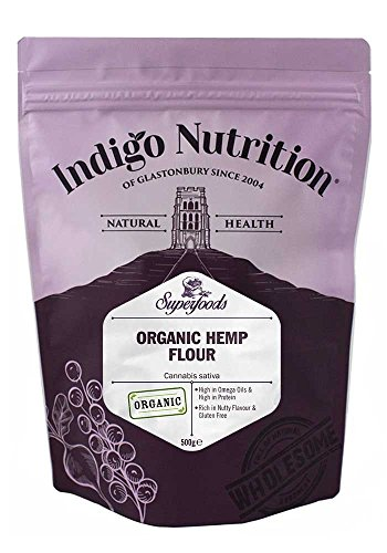 Indigo Herbs Farine de Chanvre Bio 500g