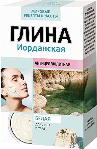 Jordanische Anti Cellulite Tonerde weiß Feuchtigkeit Körperpflege Hautpflege Глина белая Иорданская 100 g