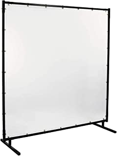 Steiner 539HD-6X6 Protect-O-Screen HD Welding Screen with 16 Mil Vinyl Curtain, Clear, 6' x 6'
