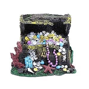 sylbx Aquarium Ornament Resin,fish tank accessories orname...