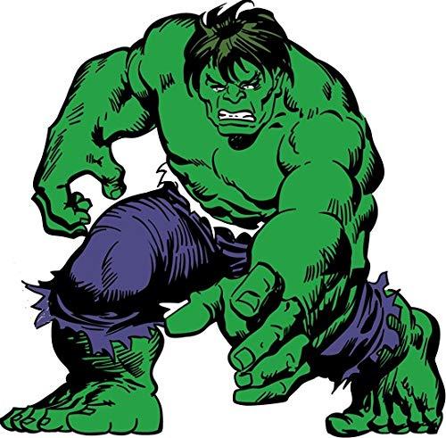 7 Inch Green Incredible Hulk Marvel Avengers Bruce Banner...