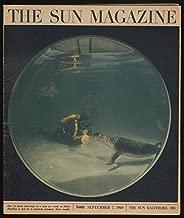 The SUN MAGAZINE 9/7 1969 Hawk Harrelson; Johns Hopkins Seal study