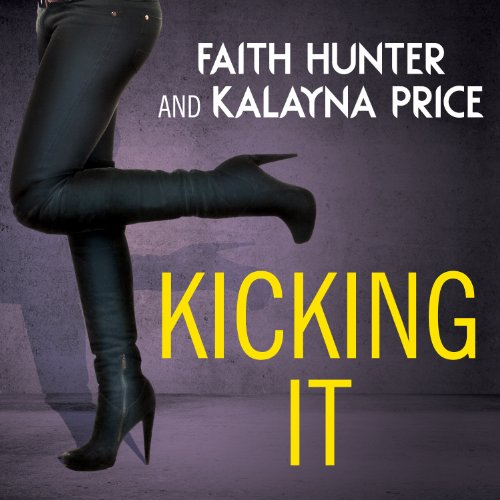 Kicking It audiobook cover art