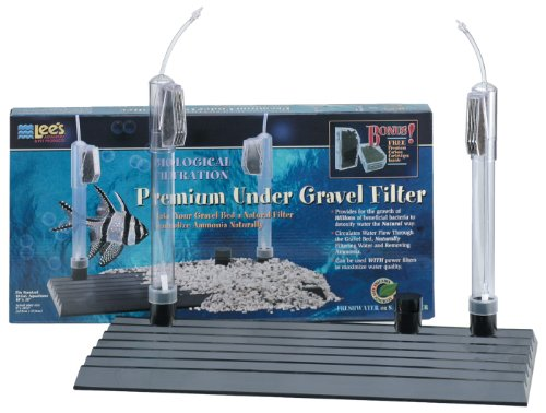 Lee's 10 Premium Undergravel Filter, 10-Inch by 20-Inch