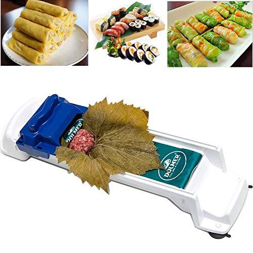 Herramienta de Rodillo de Carne Vegetal Multifunci/ón para Hojas de Uva Rellena Rollo de Carne de Verduras y Rollos de Sushi