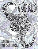 Búfalo - Libro de colorear