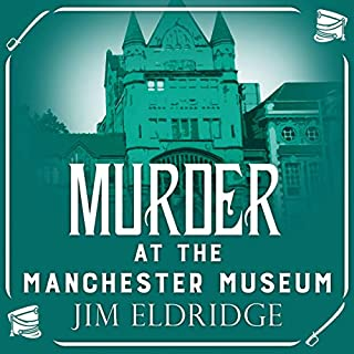 Murder at the Manchester Museum cover art