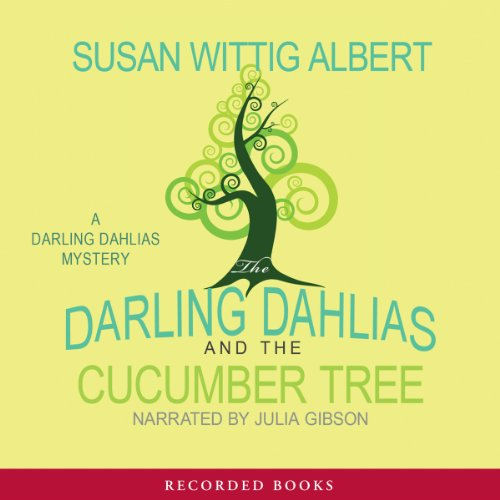 The Darling Dahlias and the Cucumber Tree audiobook cover art