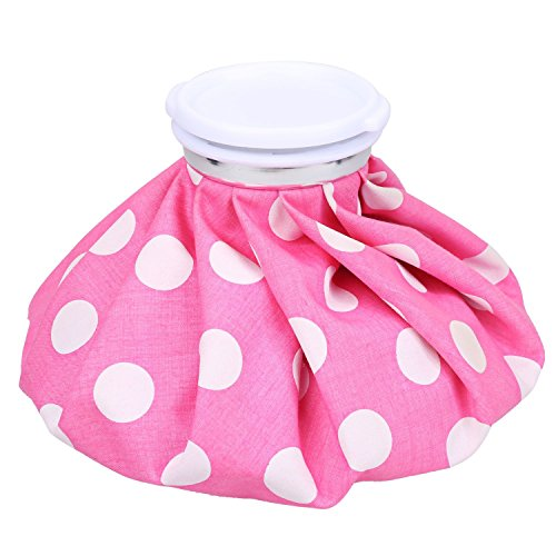 Ice Bag - NEWSTYLE Hot and Cold Reusable Pack 9 inch - Pink Color (Pink)