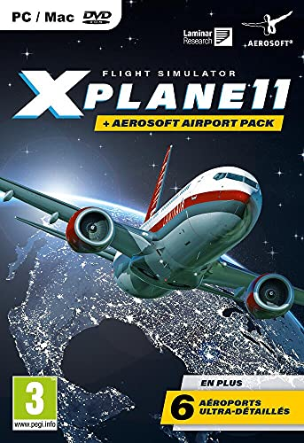X-Plane 11.3 + Pack 6 Flughäfen