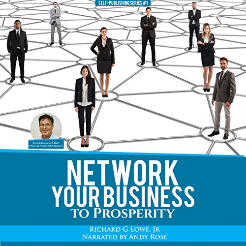 Network Your Business to Prosperity audiobook cover art
