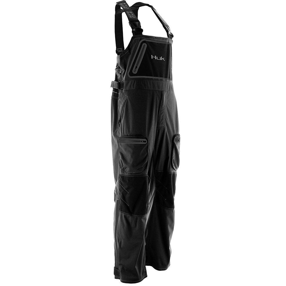 Huk Commercial Grade PVC Waterproof Foul Weather Bib Navy Size XTRA LARGE XL